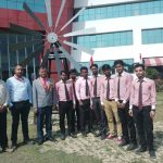 WIND TURBINE MADE BY MECHANICAL STUDENTS WHICH CAN RUN AN AC UNDER THE ABLE GUIDANCE OF MR. VINAY MISHRA