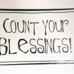 count your blessings, name them one by one by Abhishek Mandow