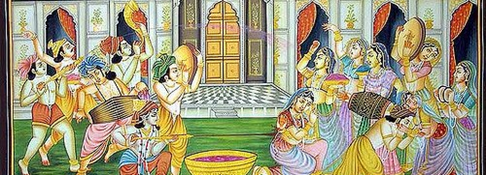 Holi in Krishna Nagri by Garima Sharma