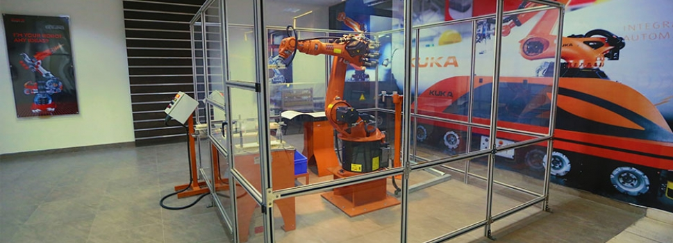 PATENT GRANTED BY GOVT. OF INDIA IN THE FIELD OF INDUSTRIAL ROBOTICS