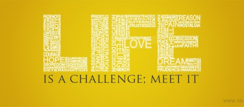 life is a challenge by Deepak Shukla, ME- 3rd year